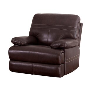 Koehn Leather Power Recliner by Red Barrel Studio