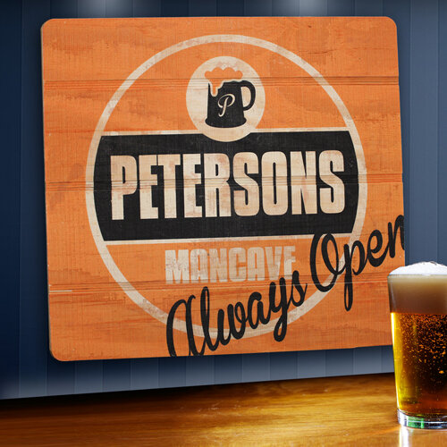 Jds Personalized Gifts Personalized Gift Wood Tavern And Bar Sign Graphic Art Reviews Wayfair