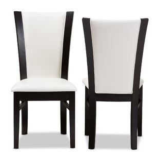 Ebern Designs Joos Upholstered Dining Chair (Set of 2)