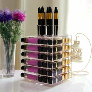 Rotating Makeup Cosmetic Organizer