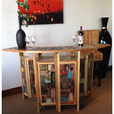 Barnes Teak Home Bar by Loon Peak Cheap