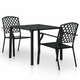 Paley 3 Piece Bistro Set