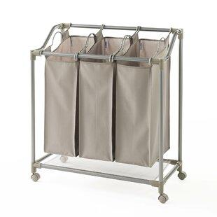 NeatFreak Deluxe Triple Laundry Sorter