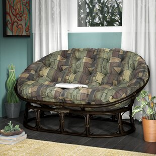 Bouirou Papasan Chair by World Menagerie