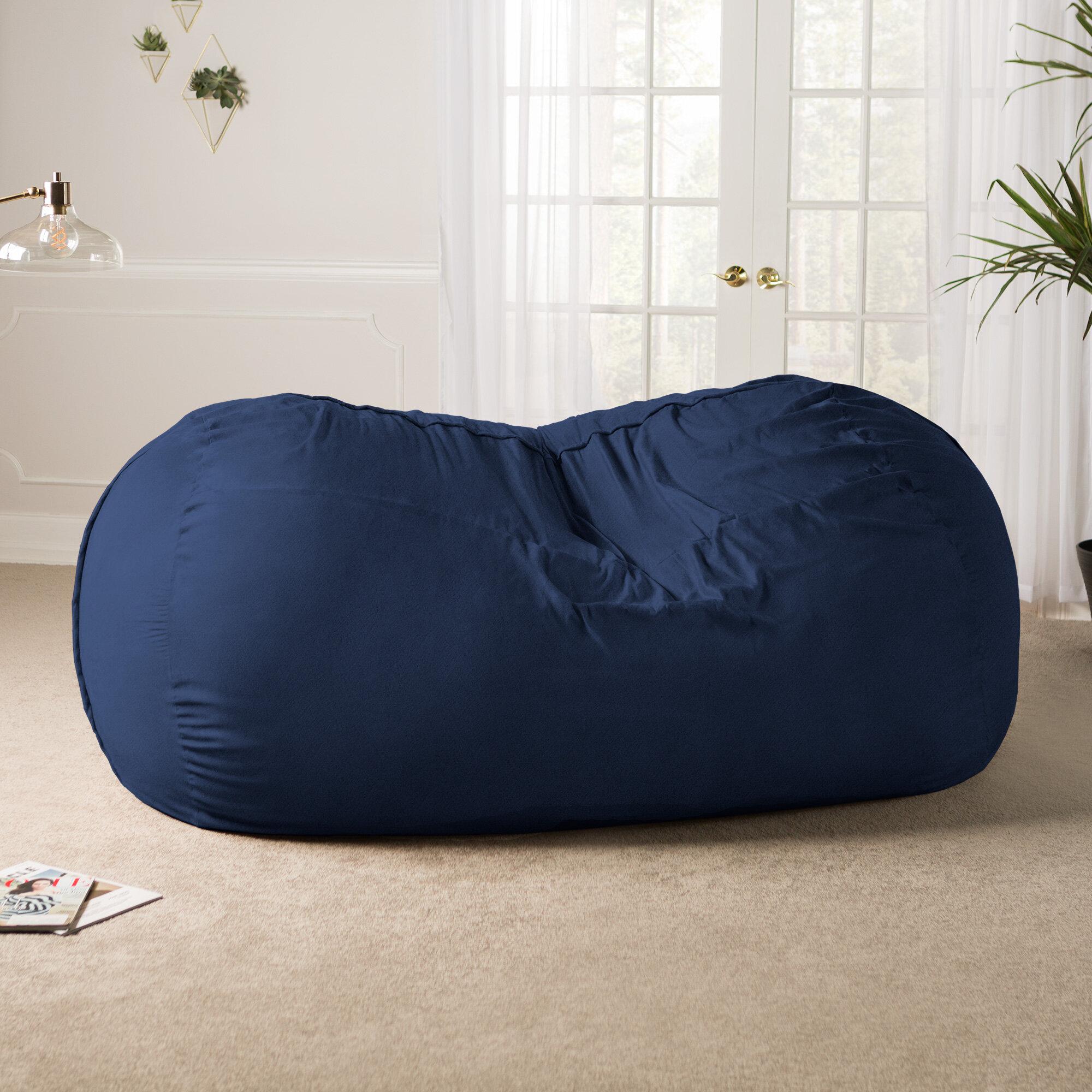 Latitude Run Giant Bean Bag Sofa U0026 Reviews | Wayfair