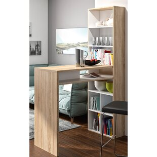 Delvale Desk With Bookcase by Latitude Run Best #1