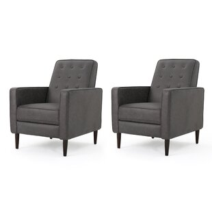 Review Platt Recliner (Set of 2) by Zipcode Design