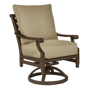 Leona Grand Regent Swivel Rocking Chair with Cushion