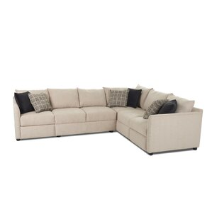 Latitude Run Stills L-shaped Power Hybrid Reclining Sectional