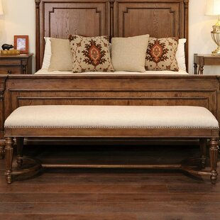 Camden Griffin Braemore Upholstered Bench by Fine Furniture Design