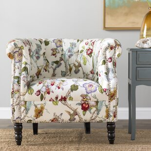 Top Reviews Pritzker Barrel Chair By Andover Mills