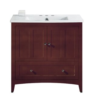 Artic 36 Rectangle Single Bathroom Vanity Set by Longshore Tides