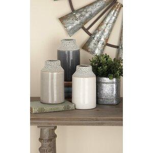 Ceramic Table Vase (Set of 3)