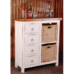 Wellfleet Whitewashed Accent Cabinet By Rosecliff Heights