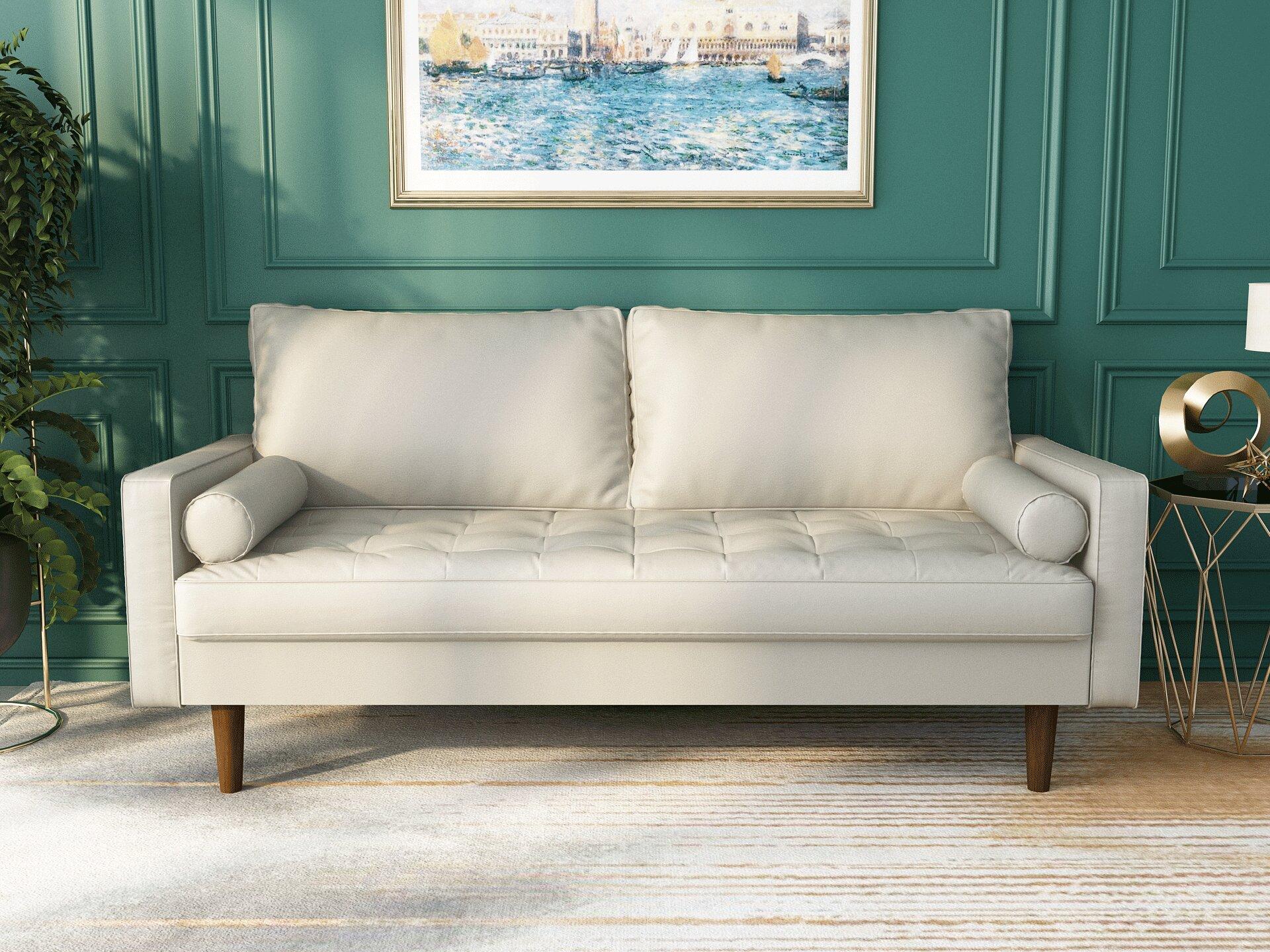 White Sofas Couches Free Shipping Over 35 Wayfair