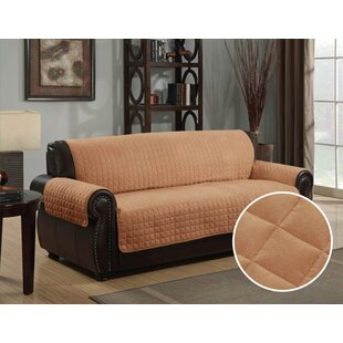 Affordable Box Cushion Sofa Slipcover by Alcott Hill Reviews (2019) & Buyer's Guide