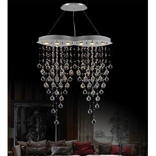 CWI Lighting Robin 6-Light Crystal Chandelier