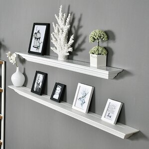 Floating Bookshelves floating & hanging shelves you'll love | wayfair