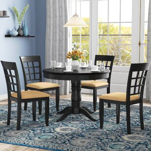 Oneill 5 Piece Wood Dining Set