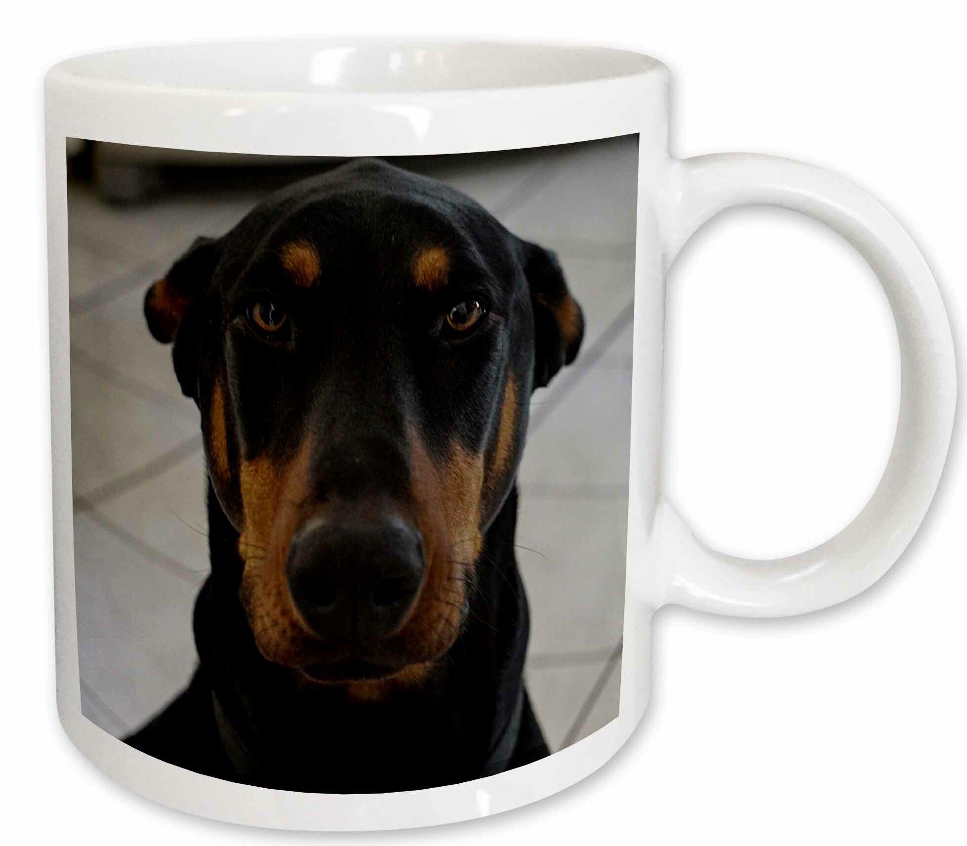 3drose Doberman Coffee Mug Wayfair