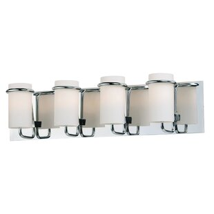 Wrought Studio Gowins 4-Light Bath Bar