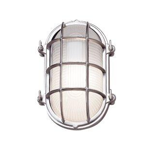 Williston Forge Quill 1-Light Outdoor Bulkhead Light
