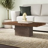 Amberly Pedestal Coffee Table by Greyleigh™