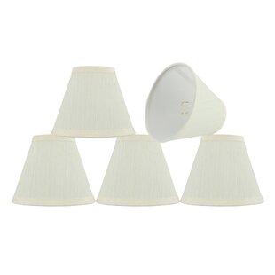 Modern 6'' Fabric Empire Lamp Shade (Set of 5)