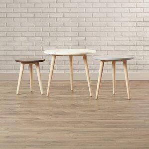 Polen 3 Piece Nesting Tables by Brayden Studio
