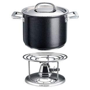 Infinite Stockpot with Lid and Free Table Burner by Circulon