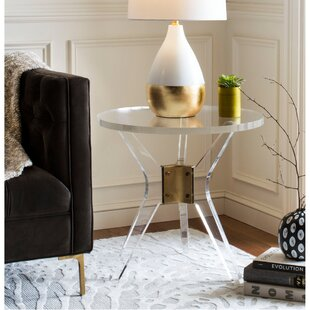 Mercer41 Hoefer Acrylic End Table