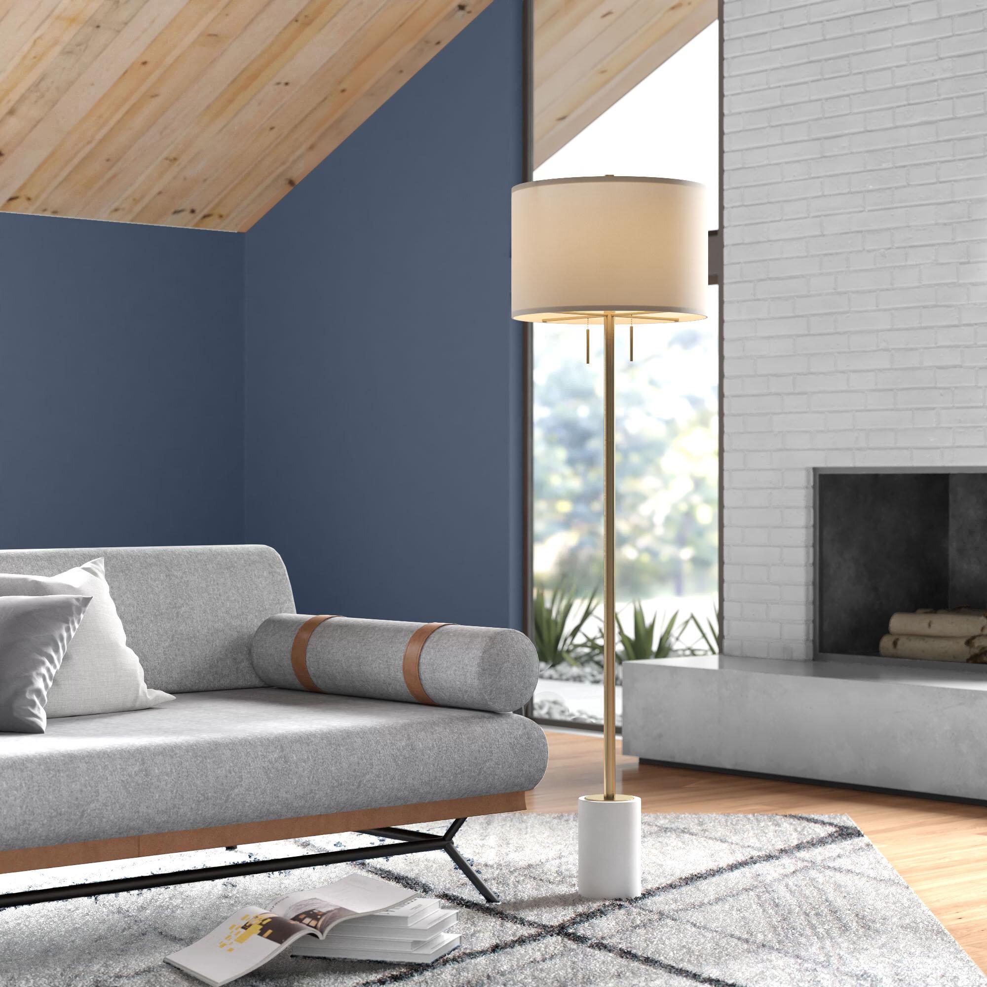 Dametta 62 Traditional Floor Lamp Reviews Allmodern