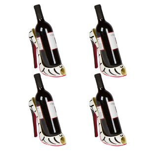 Cabello High Heel Holder 1 Bottle Tabletop Wine Rack (Set of 4) by House of Hampton