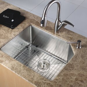 Kraus Undermount  Kitchen Sink with NoiseDefend?..