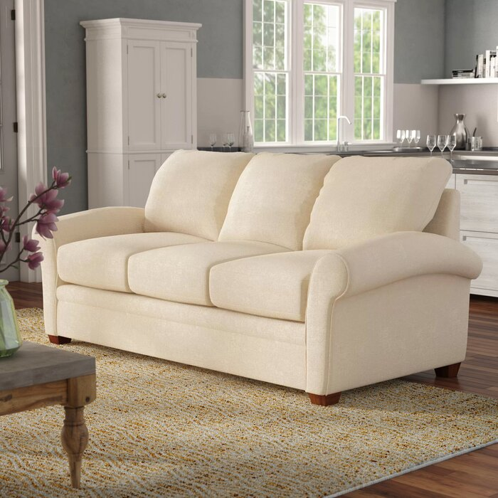 Natalie 86 inches Round Arms Sofa