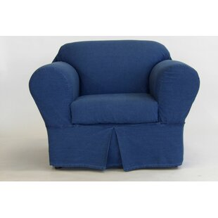 2 Piece Box Cushion Chair Slipcover