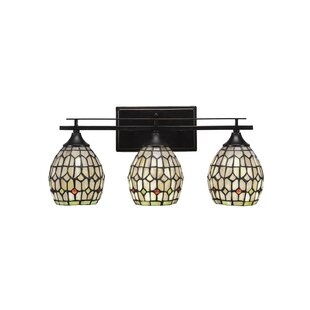 Ebern Designs Murdoch 3-Light Vanity Light