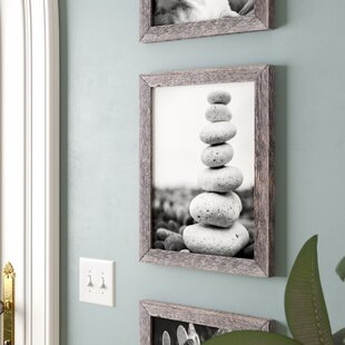 Asencio Barn Wood Reclaimed Standard Wall Picture Frame