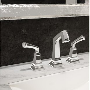 Symmons Oxford Widespread Bathroom Faucet with Drain Assembly