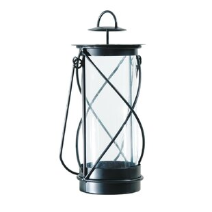 Best Review Metal Lantern By August Grove