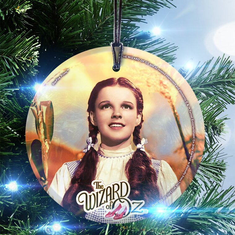 Trend Setters Wizard of Oz (Dorothy) Hanging Shaped Ornament | Wayfair