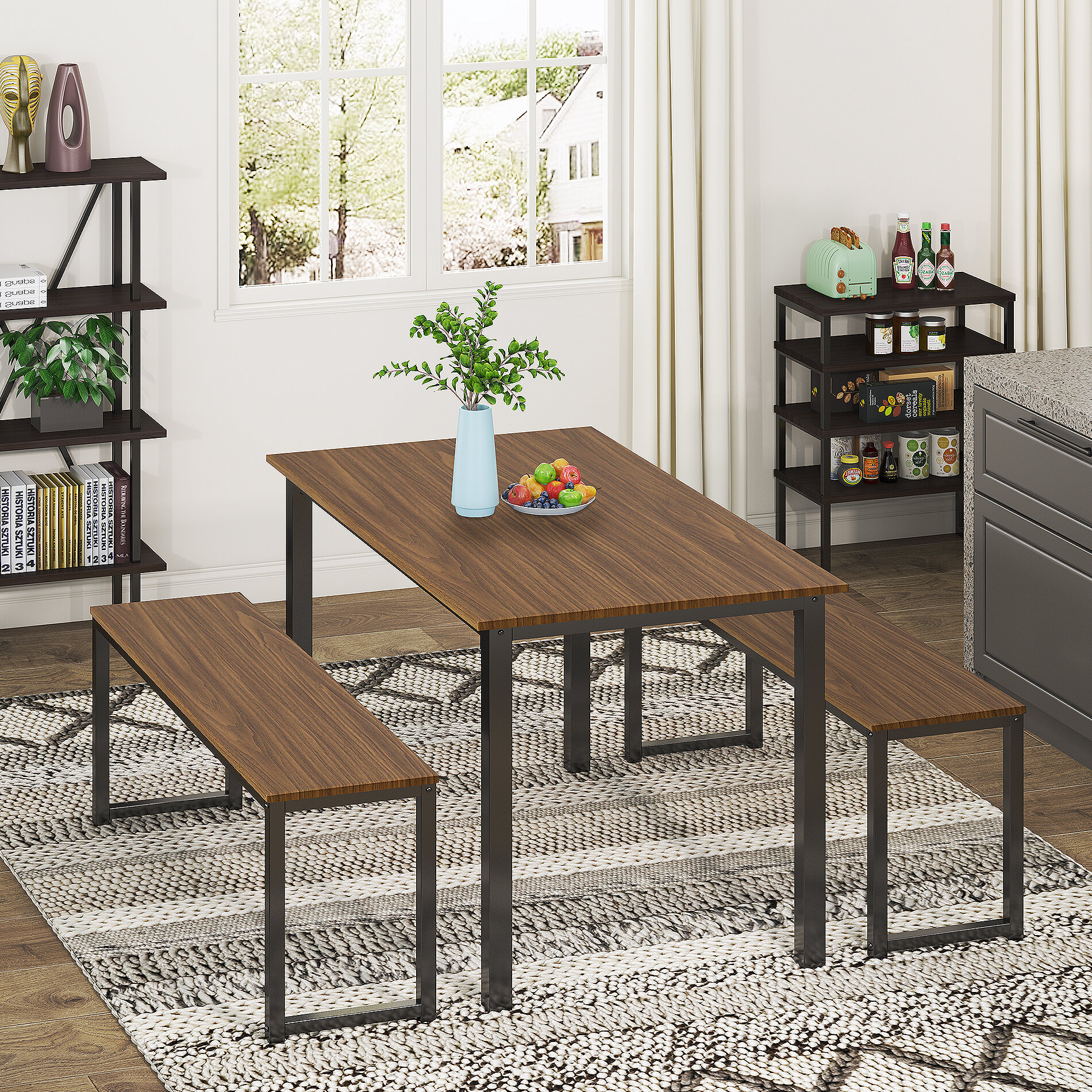 Latitude Run Annona 3 Piece Dining Set Wayfair
