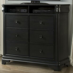 Segars 6 Drawer Media Chest by Three Posts Wonderful