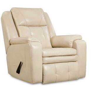 Inspire Leather Manual Recliner by Southern Motion