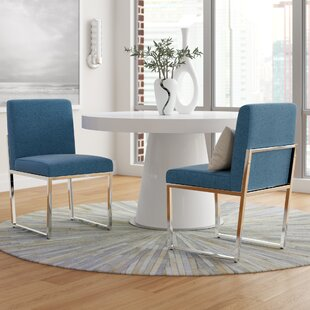 Saniveieri Upholstered Dining Chair (Set of 2) Orren Ellis