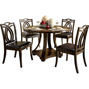 Kirklin 5 Piece Dining Set by Three Posts
