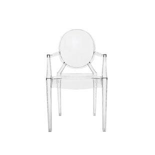 Savings Ghost Armchair (Set of 2) Great buy
