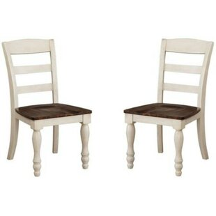 Cormac Solid Wood Dining Chair (Set of 2) Alcott Hill