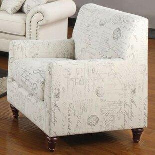 Parfondeval French Armchair by One Allium Way