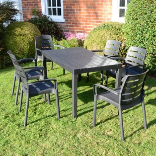 Orson 6 Seater Dining Set By Sol 72 Outdoor